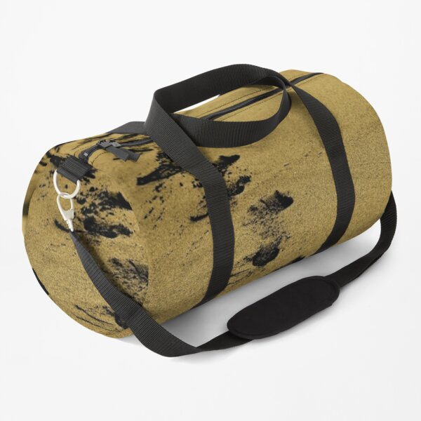 Sand steps on the shore of the sea Duffle Bag