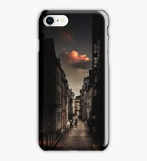 Red cloud in Paris (France) iPhone Case/Skin