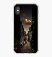 Red cloud in Paris (France) iPhone Case