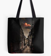 Red cloud in Paris (France) Tote Bag