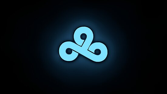 cloud 9 team logo high res posters by clothing4u redbubble
