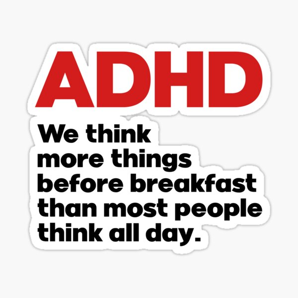 ADHD awareness Sticker