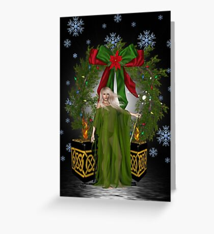 A  Pagan Christmas Greeting Card