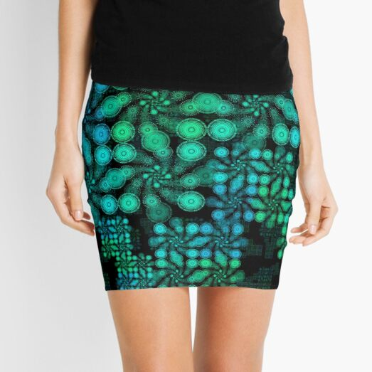 3. 2020 Digital Tile Mini Skirt