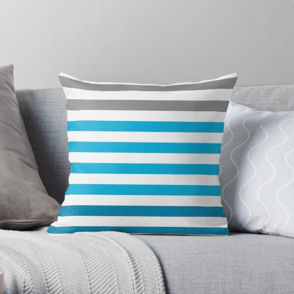 Stripes Gradient - Blue Coussin