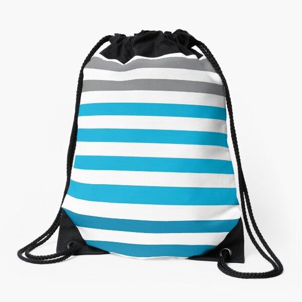 Stripes Gradient - Blue Sac à cordon