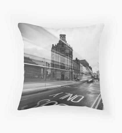 Townsend Street, Dublin Throw Pillow