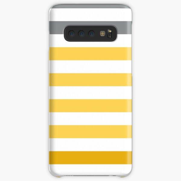 Stripes Gradient - Yellow Coque rigide Samsung Galaxy