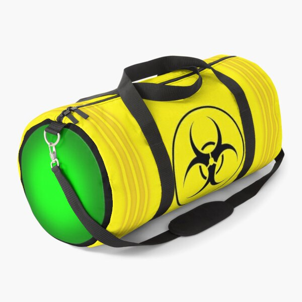 Toxic Waste Duffel Bag (Biohazard) Duffle Bag