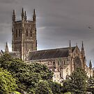Cathedral View by dgscotland