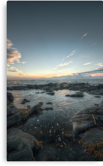 Be Water, my Friend    Troon, Scotland by Anir Pandit
