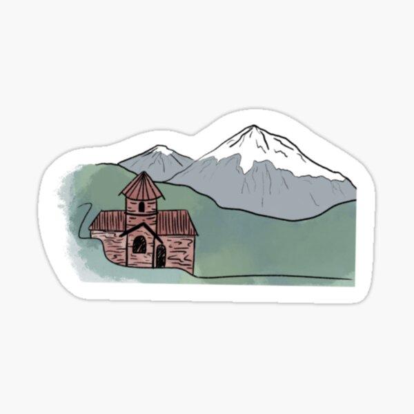 Mt. Ararat  Sticker