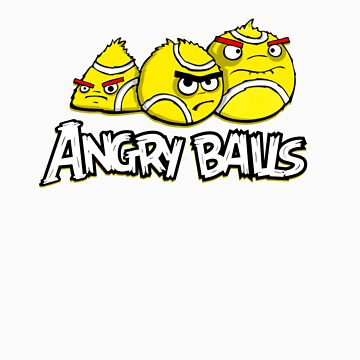 angry balls by raphaelburton