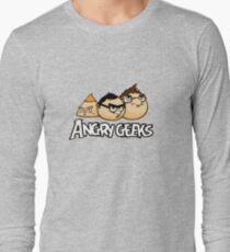 angry geeks Long Sleeve T-Shirt