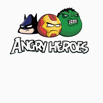 angr heroes by raphaelburton