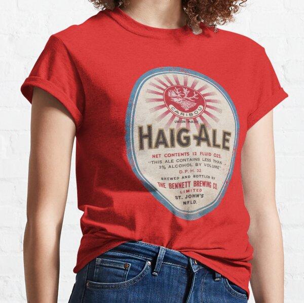 Newfoundland Beer Label (Haig Ale) Classic T-Shirt