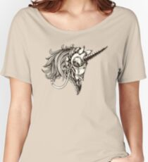 Steampunk Unicorn Fantasy Women's Relaxed Fit T-Shirt