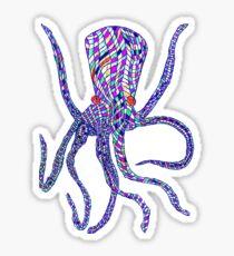 Syd Barrett's Octopus Sticker