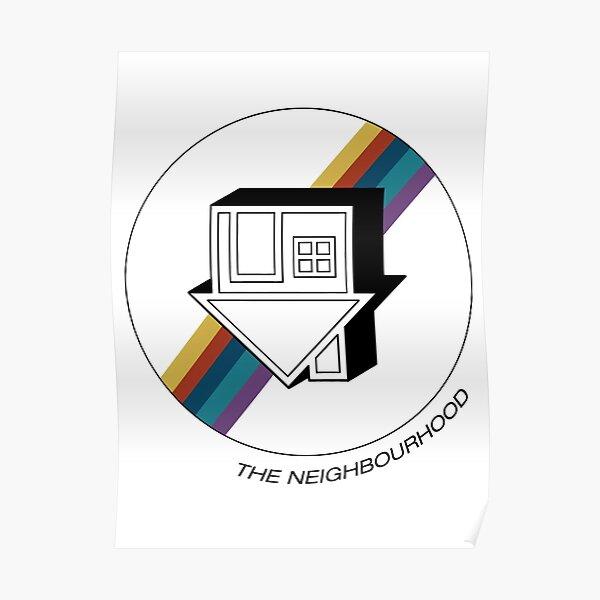 The Neighbourhood Rainbow Poster