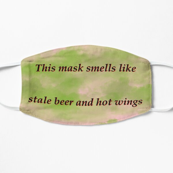 Pink Stale beer and wings Mask