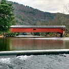 Downstream From The Historic Hillsgrove Bridge by Gene Walls