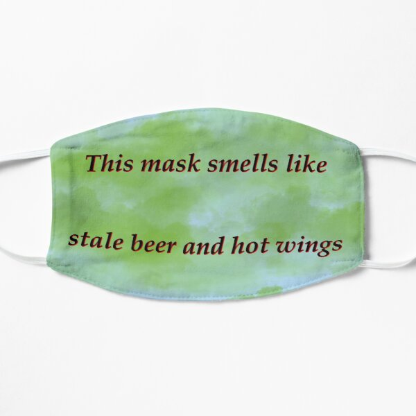 Blue Stale beer and wings Mask