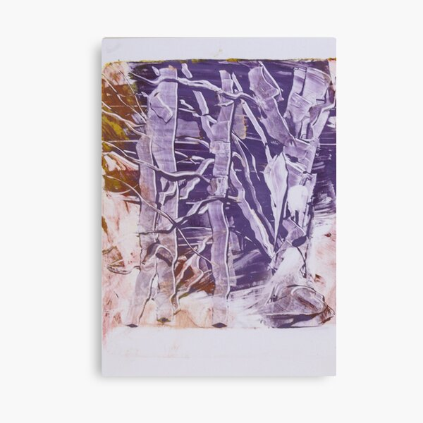 birches in winter Canvas Print