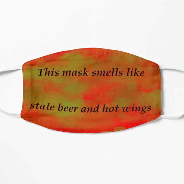 Red Stale beer and wings Mask
