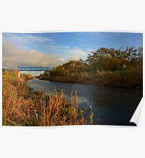 Strabane Canal Footbridge Poster