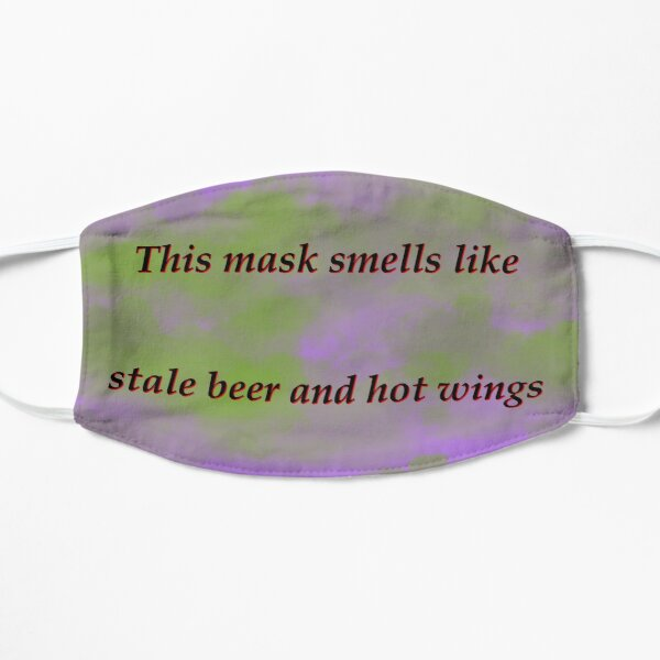 Purple Stale beer and wings Mask
