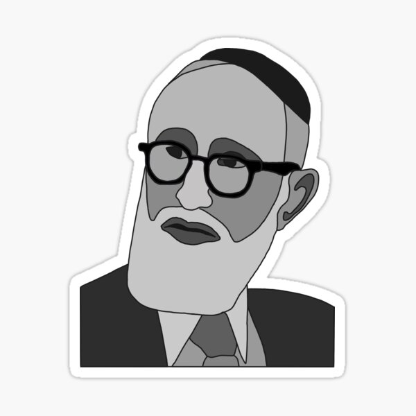 Rav Soloveitchik Sticker