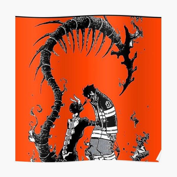 Fire Force - Le quatrième pilier Shinra Poster