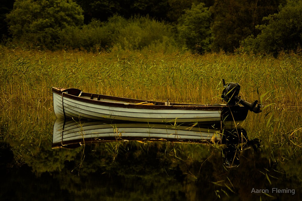 Boat Reflection by Aaron Fleming