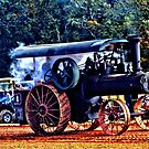Old Steam Tractor in HDR by milerunner81