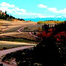 CR 100 in autumn by Christine Ford