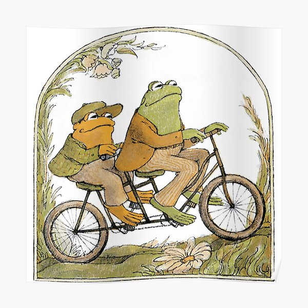 GRAB IT FAST FROG Poster