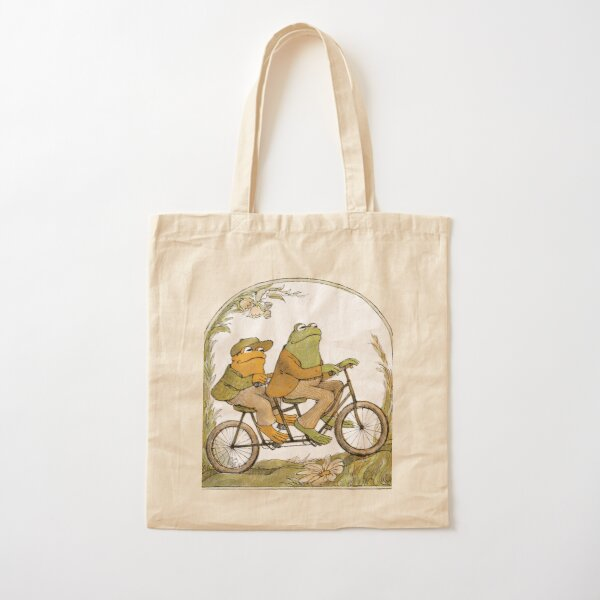 GRAB IT FAST FROG Cotton Tote Bag