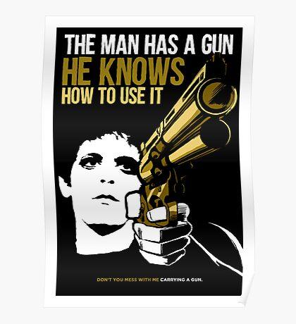 Carrying a Gun Poster