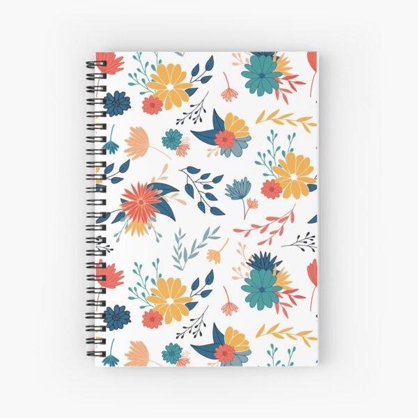 Colorful Botanicals  Spiral Notebook