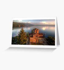 St. Jovan Kaneo, Ohrid Greeting Card