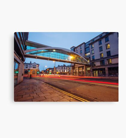Westland Row, Dublin Canvas Print
