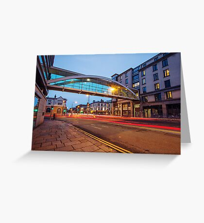 Westland Row, Dublin Greeting Card