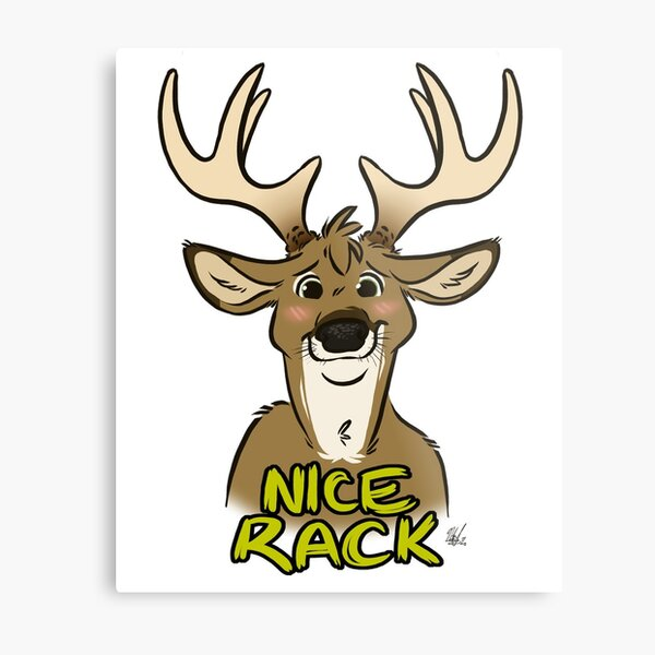 Nice Rack Metal Print