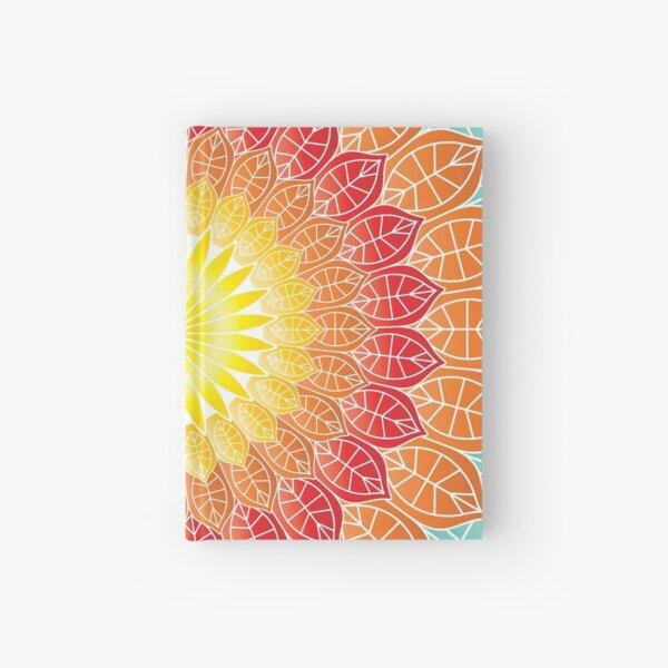 Colorful Nature Mandala Hardcover Journal
