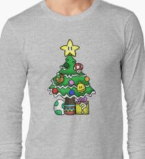 Super Mario - Mushroom Kingdom Christmas Long Sleeve T-Shirt