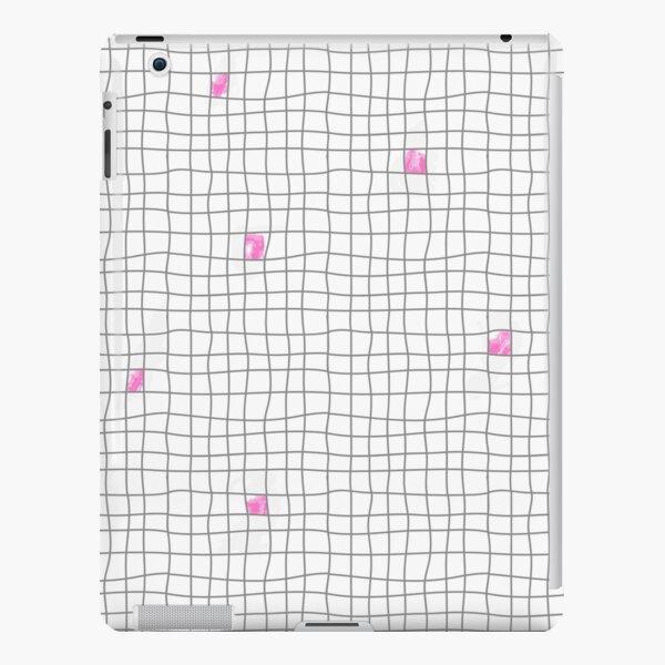 Carreaux - Grey/Pink Coque rigide iPad