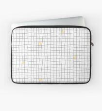Carreaux - Grey/Yellow Laptop Sleeve