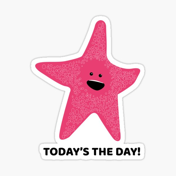 Today's the day! Finding Nemo Sticker