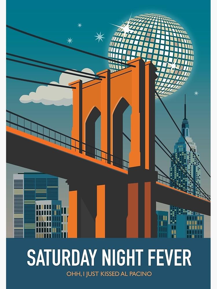 Saturday Night Fever - Alternative Movie Poster by MoviePosterBoy