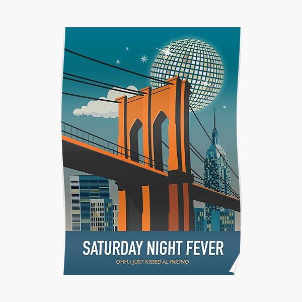 Saturday Night Fever - Alternative Movie Poster Poster